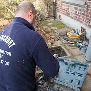 Balencourt débouchage tuyaux à Wezembeek