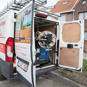 Réparation égouts Bruxelles et Brabant