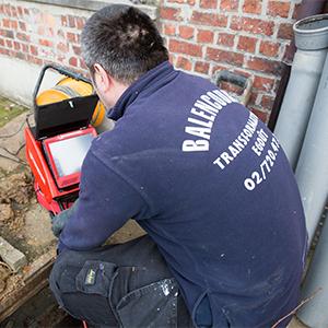 réparation égouts avec inspection caméra