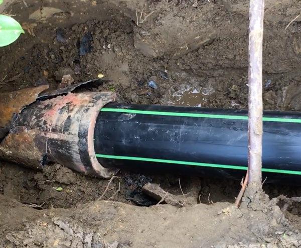 réparation chemisage pipe bursting Bruxelles